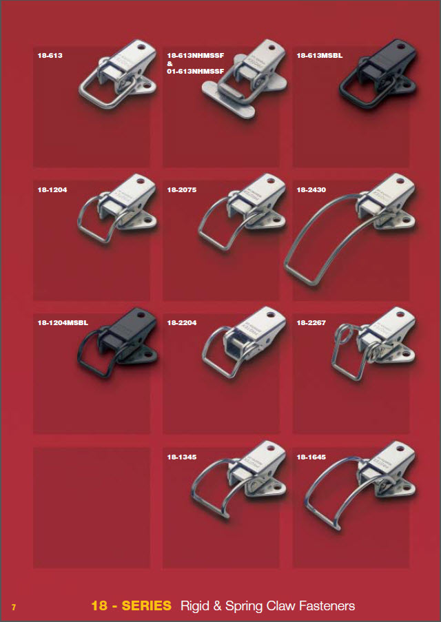 Load Rated Draw Latches Hardware Mfg