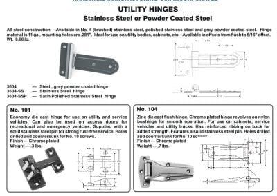 Utility Hinge