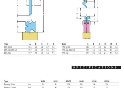 Sheet Metal Bender  55 Ton LVD 78″