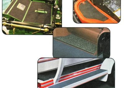 Grit Tape, Non-Skid, Gravel Guard, Deck Pads, Safety Steps