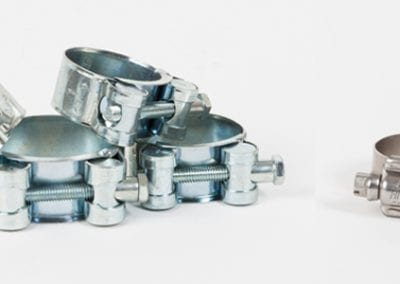 JCS Hi Torqure worm drive compared to Tee bolt adjustable clamps