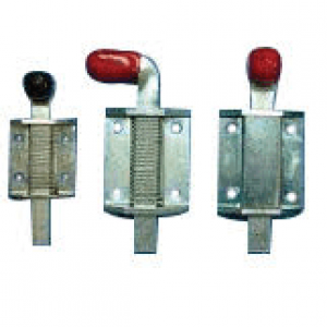 Red Handle Spring Latches