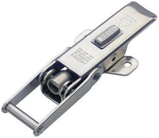 Adjustable Latch with Safety Catch Medium Duty Stainless Steel