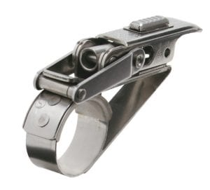"7/8"" small diameter Platform Band clamp"