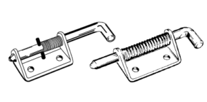 Heavy Duty Spring Latches