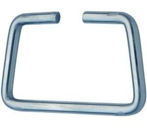 321CMSZN- Handle Mild Steel Zinc Plate Passivate (Silver Blue)