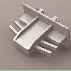 Grid Clip - 8mm x 25.5mm Contour