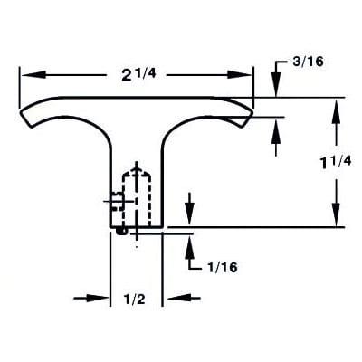 Extruded – Internal Thread Handle