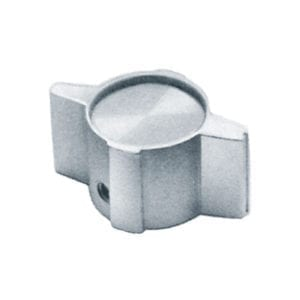 2-00 Series Knobs - Contemporary Aluminum