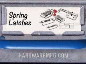 Spring Latch